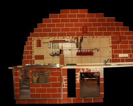 mozaik v kuhinji
